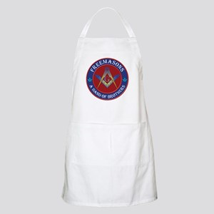 Freemasons. A Band of Brothers Apron