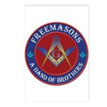 Freemasons. A Band of Brothers Postcards (Package