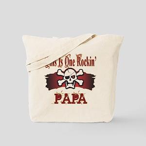 Rockin Papa Tote Bag