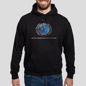 Star Trek United Federation of Planets Hoodie (dar