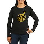 The Dark Side Women's Long Sleeve Dark T-Shirt
