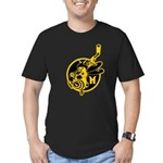 The Dark Side Men's Fitted T-Shirt (dark)