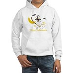 Jack Russell Happy Halloween Hooded Sweatshirt
