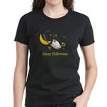 Jack Russell Happy Halloween Women's Dark T-Shirt