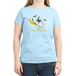 Jack Russell Happy Halloween Women's Light T-Shirt