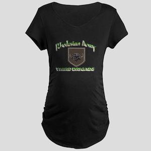 Rhodesian Army 3rd Brigade Maternity Dark T-Shirt