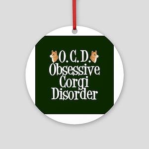 Corgi Obsessed Ornament (Round)