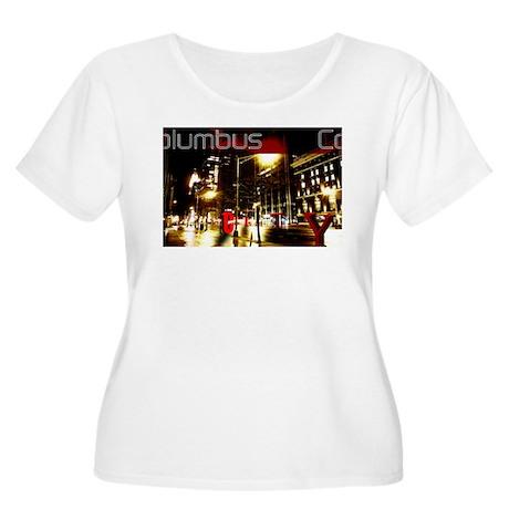 Columbus City Women's Plus Size Scoop Neck T-Shirt