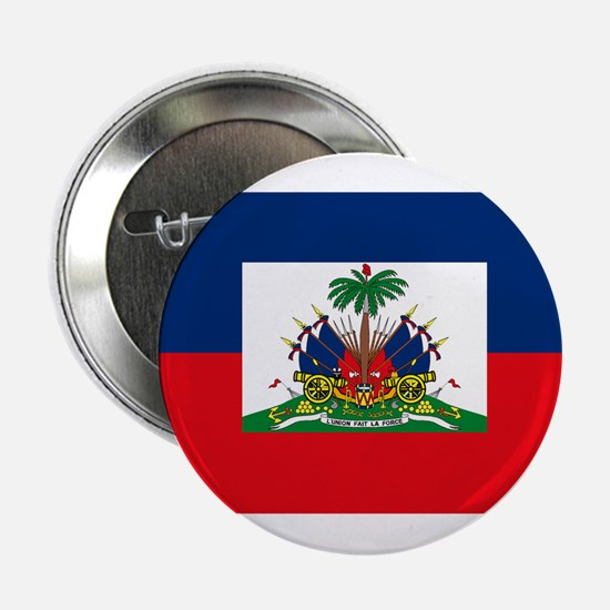 "Haiti Flag 2.25"" Button (10 pack)"