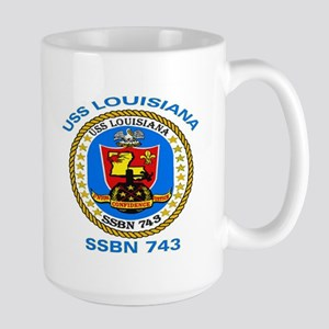 USS Louisiana SSBN 743 Large Mug