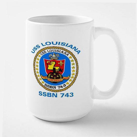 USS Louisiana SSBN 743 Large Mug