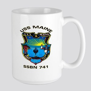 USS Maine SSBN 741 Large Mug