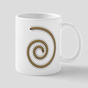 Golden Millipede Mug