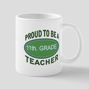 proud 11th. grade green Mugs