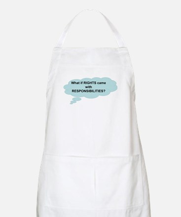 Rights and Responsibilities BBQ Apron