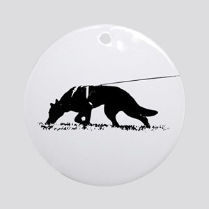 shepherd tracker Ornament (Round)