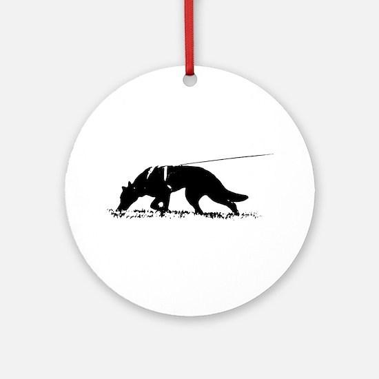 shepherd tracker Ornament (Round)