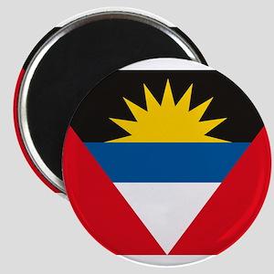 "Antigua and Barbuda Flag 2.25"" Magnet (10 pack)"