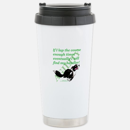 Lap Dog Stainless Steel Travel Mug