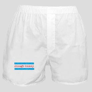 Chicago Hockey Boxer Shorts