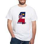 ILY Mississippi White T-Shirt
