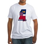 ILY Mississippi Fitted T-Shirt