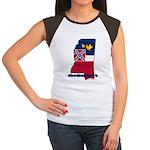 ILY Mississippi Women's Cap Sleeve T-Shirt