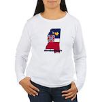 ILY Mississippi Women's Long Sleeve T-Shirt