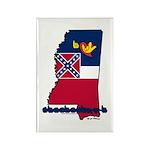 ILY Mississippi Rectangle Magnet (10 pack)