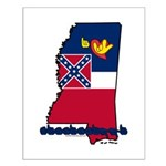 ILY Mississippi Small Poster