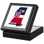 ILY Mississippi Keepsake Box