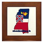 ILY Mississippi Framed Tile