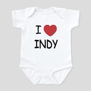 I heart Indy Infant Bodysuit