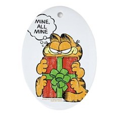 Mine All Mine Ornament (Oval)
