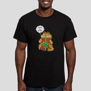Mine All Mine Men's Fitted T-Shirt (dark)