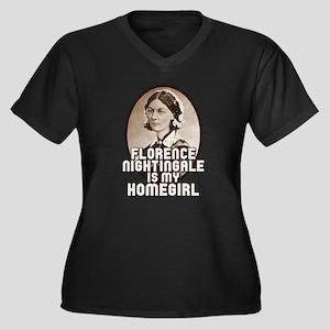 Florence Nightingale Plus Size T-Shirt