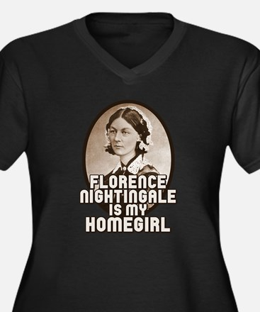 Florence Nightingale Plus Size T-Shirt