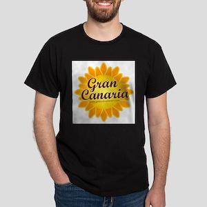 Gran Canaria Sun Black T-Shirt