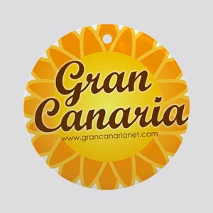 Gran Canaria Sun Ornament (Round)