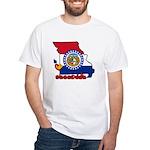 ILY Missouri White T-Shirt
