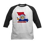 ILY Missouri Kids Baseball Jersey