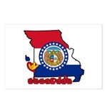 ILY Missouri Postcards (Package of 8)