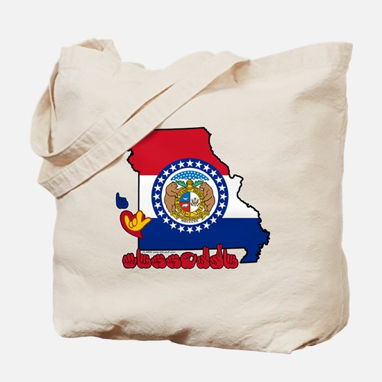 ILY Missouri Tote Bag