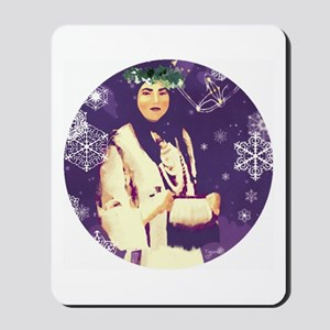 White Buffalo Calf Woman Mousepad