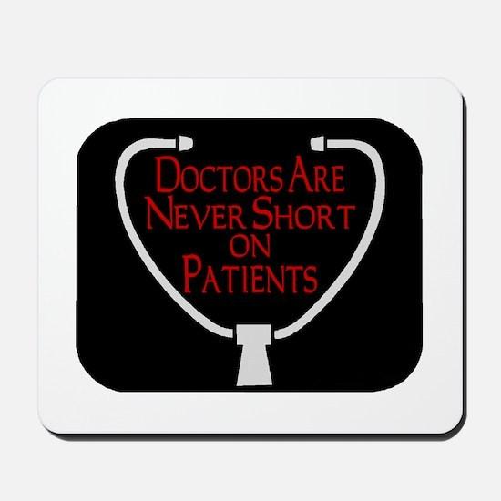 Doctors Patients Mousepad