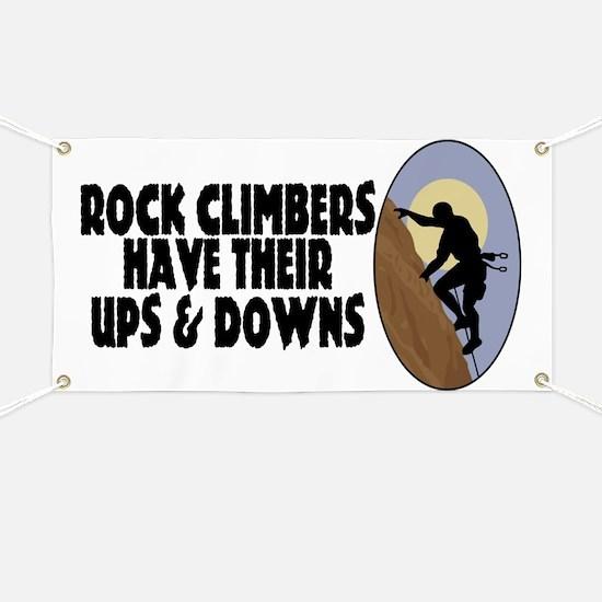 Rock Climbers Banner