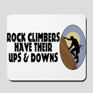 Rock Climbers Mousepad