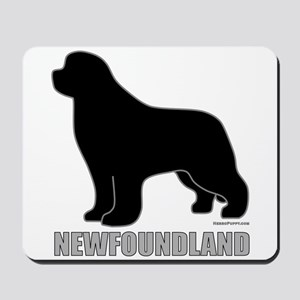 Newfoundland Silhouette Mousepad