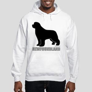 Newfoundland Silhouette Hooded Sweatshirt