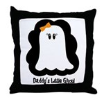 Daddy's Little Ghoul Throw Pillow